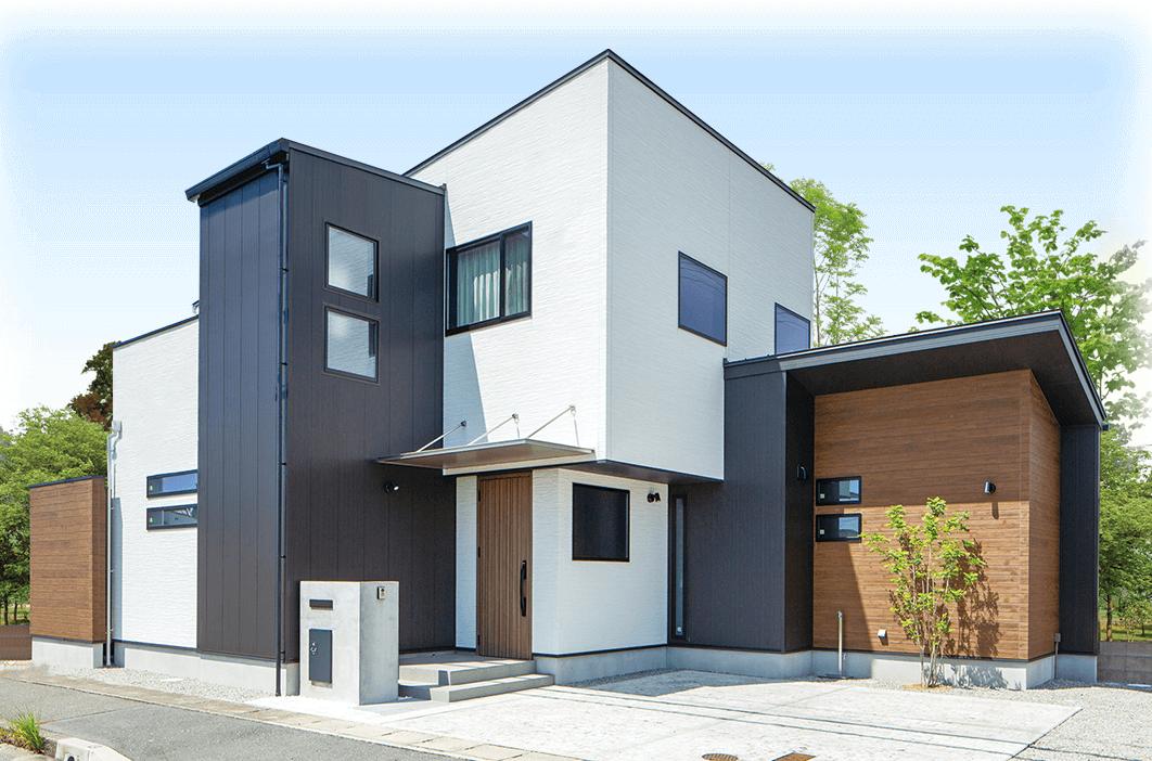 建築中モデルハウス