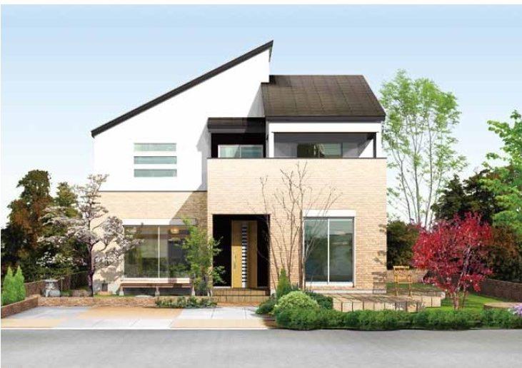 現代のデザインと和の設えが来客をもてなす邸宅