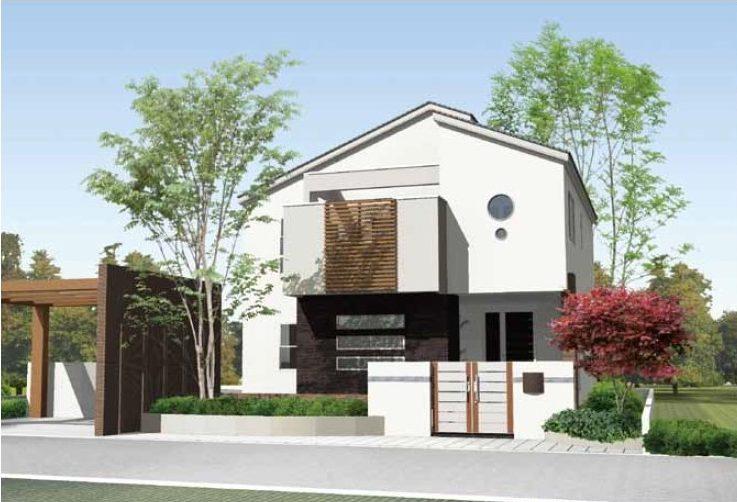 「家族」のつながる広々収納の邸宅
