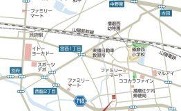 北本荘_地図