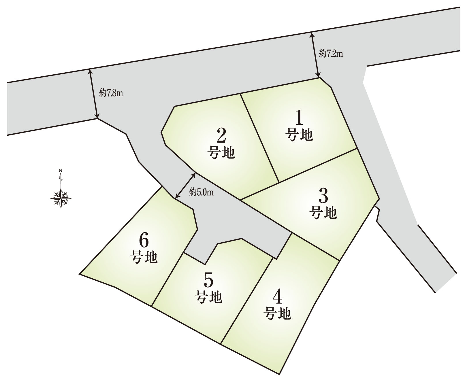 西岡町福田