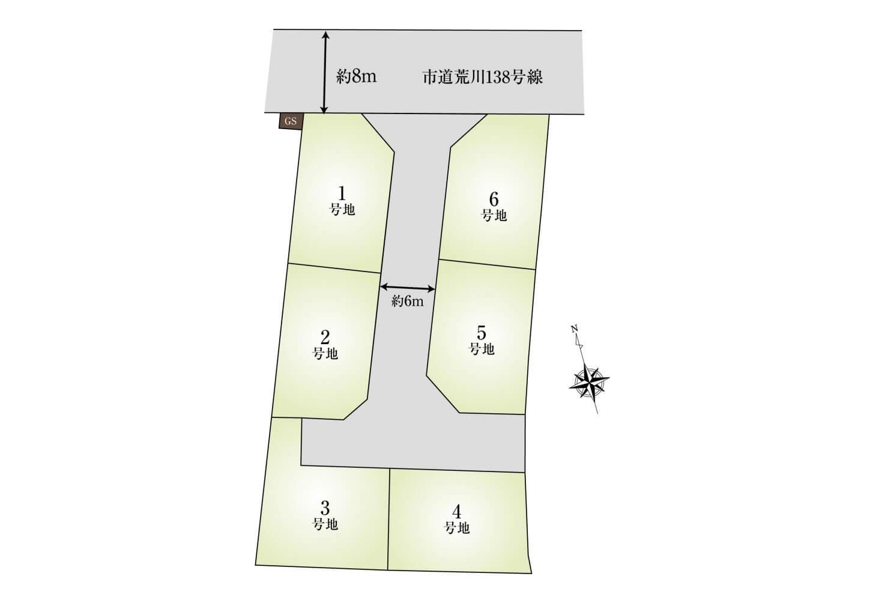 岡田A期 HP用区画図