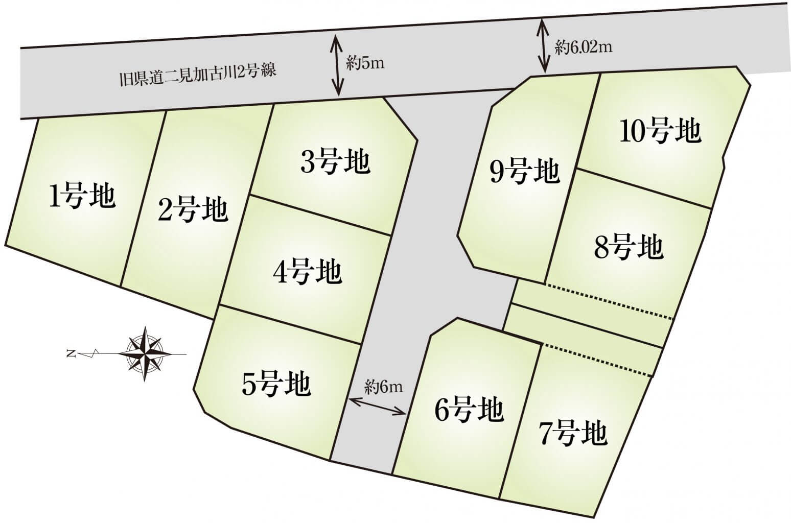 長砂B期_区画図(HP)
