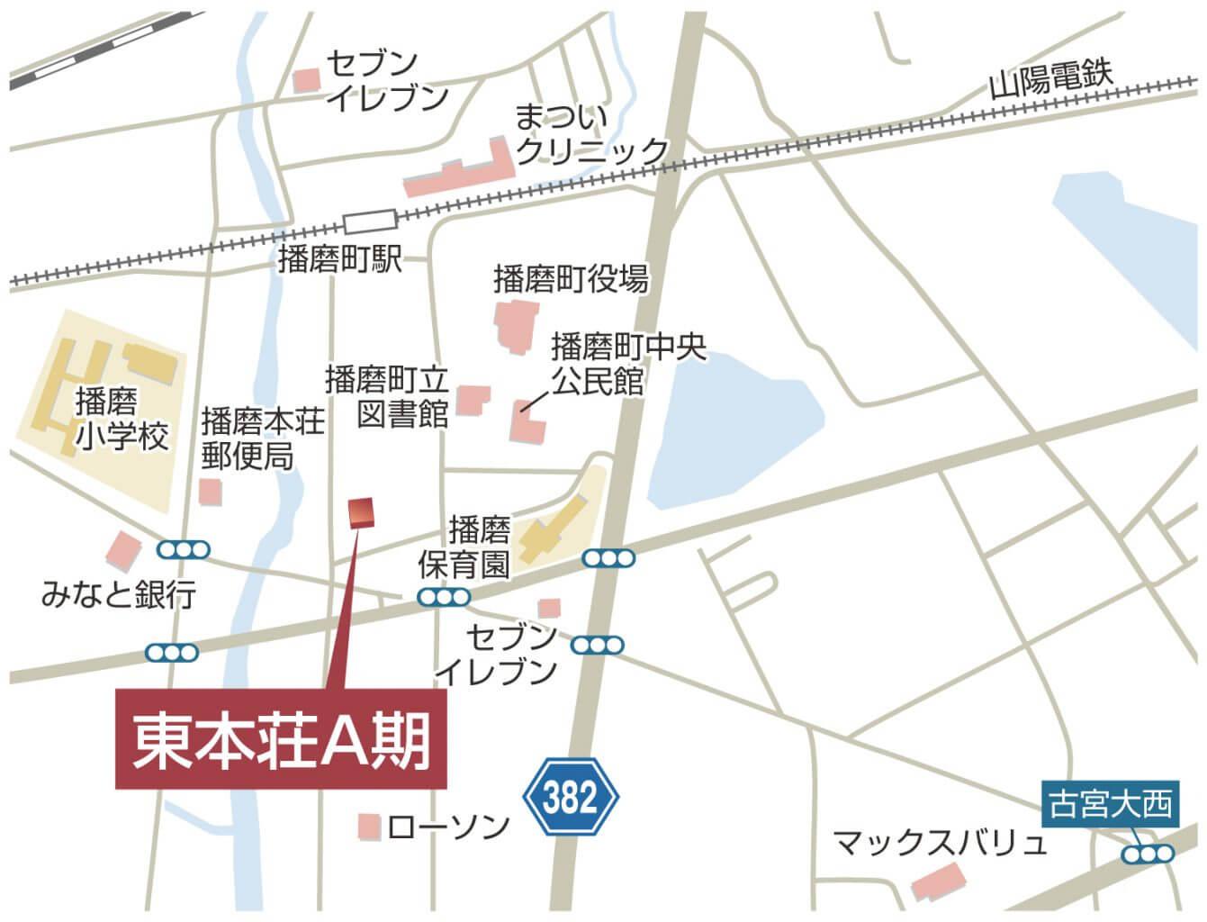 東本荘A期_map