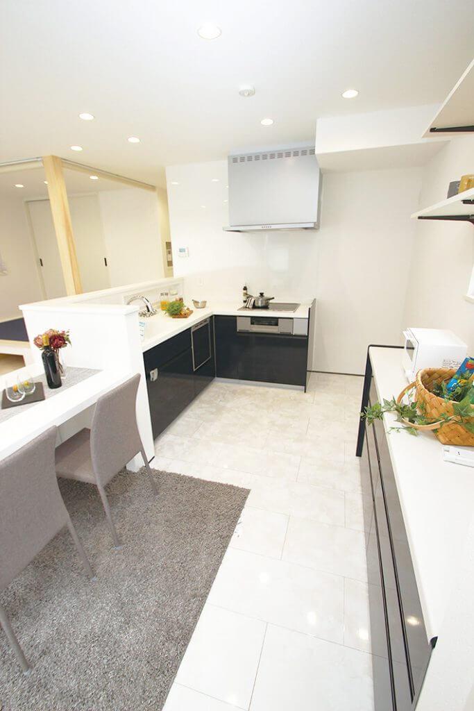 中島A期1号地kitchen