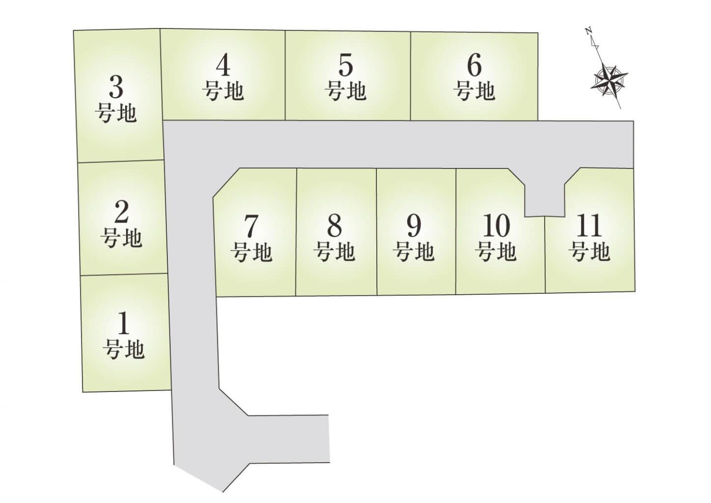 白浜町2期 HP用区画図
