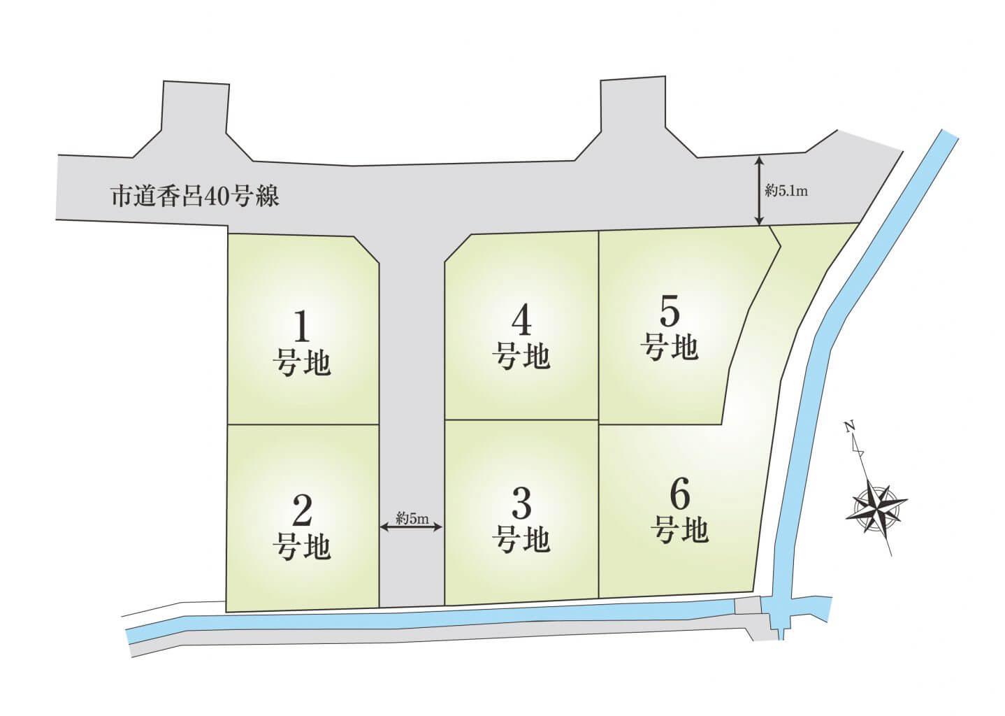 香呂7期_区画図HP用